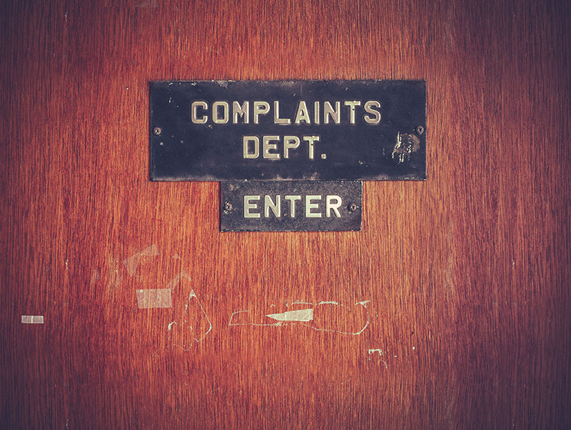 4 Better Ways to Handle Complaints